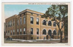 Little Rock Boys Club Little Rock Arkansas 1920s postcard