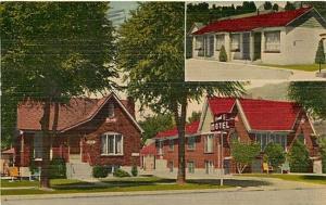 UT, Provo,  Utah, V & E Motel, E.B. Thomas