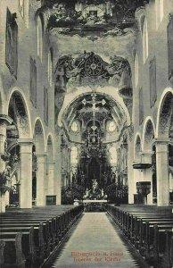 Biberach am Riss Inneres der Kirche Church Interior Postcard