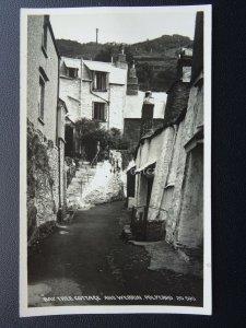 Devon POLPERRO The Bay Tree Cottage & Werrin c1950's Postcard 20590