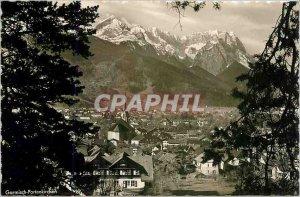 Modern Postcard Garmisch Partenkirchen