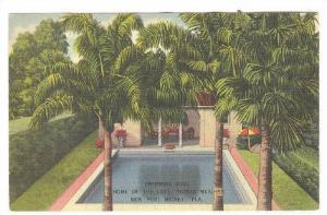 Swimming Pool, Home of the late Thomas Meighan,New Port Richey,Florida,30-40s