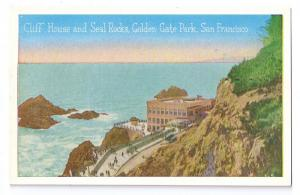 Cliff House Seal Rocks San Francisco Pacific Novelty Co PC