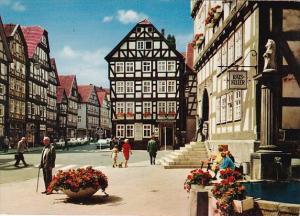 Germany Meksungen im Fuldatal Am Rathaus