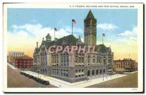 Old Postcard U S Federal Building And Post Office Omaha Neb