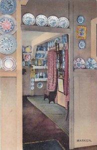 Netherlands Marken House Scene Interior