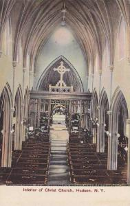 Interior of Christ Church,  Hudson,  New York,   00-10s