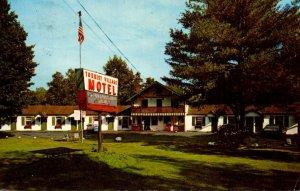 Pennsylvania Milford Tourist Village Motel 1973