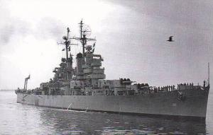 Battleship U S S Atlanta CL-104