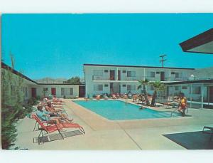 Unused Pre-1980 POOL & STARDUST MOTEL Desert Hot Springs California CA u5356