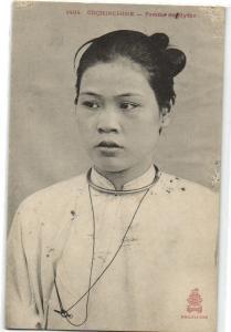 CPA Vietnam Indo China Cochinchine Femme de Mytho (33874)