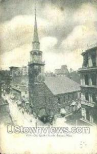 Old South Church Boston MA Unused