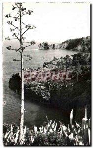 Old Postcard La Corniche D & # 39Or (Var) Les Rochers Rouges