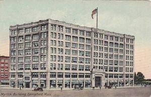 Exterior, Myrick Building, Springfield, Massachusetts,  PU-1916