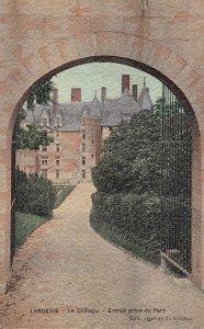 LANGEAIS, Indre et Loire, France, 1900-10s; Le Chateau, Etree prise du Parc