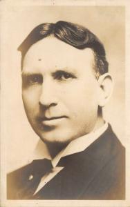 Elkhart Indiana~Gentleman's Portrait~LH Burrell Successor to J Inbody~c1916 RPPC