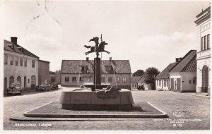 Laholm Hastbrunnen Weather Vane Sweden Old Real Photo Postcard