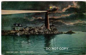 Lighthouse, Boston Harbor Mass