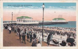 ATLANTIC CITY, New Jersey, 1900-1910's; Heinz Ocean Pier And Boardwalk