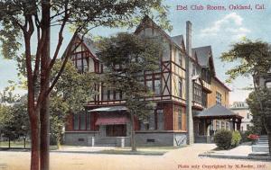 Oakland California~Advancement of Women Ebell Club Rooms~1914 Postcard