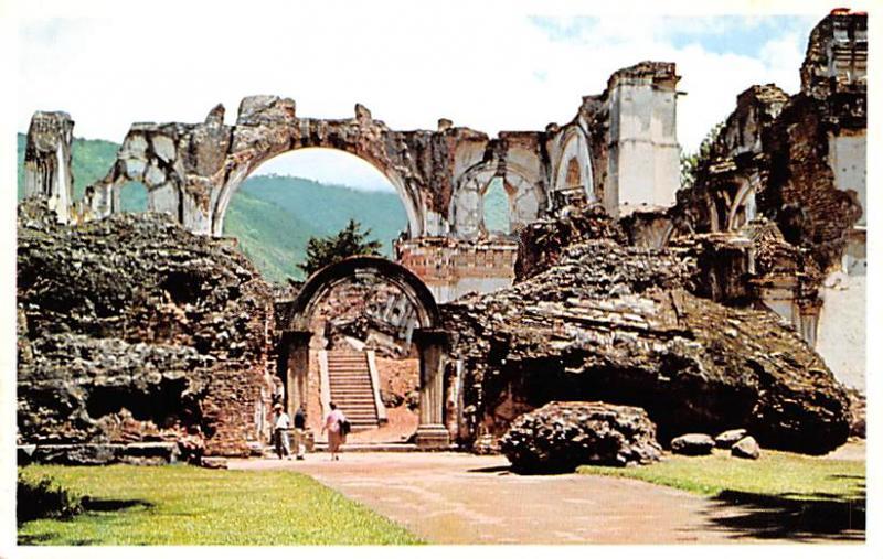 Antigua Guatemala, Central America, Republica de Guatemala Ruinas de la Igles...