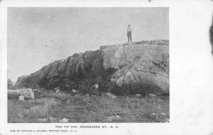 Kearsarge New Hampshire Tip Top Scenic View Antique Postcard K84323
