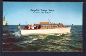 Shepler's Bridge Tours.Mackinaw City,MI BIN