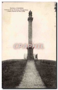 Old Postcard Environs d & # 39Ancenis Column of the Duchess of & # 39Angoulem...