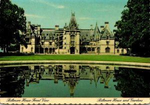 North Carolina Asheville Biltmore House From Front Lawn At Biltmore House and...