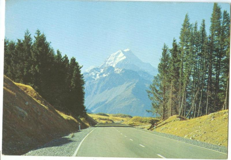 New Zealand, Mt. Cook, 1979 used Postcard
