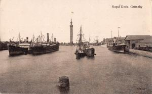 uk15720 royal dock grimsby  real photo uk