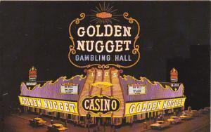 Nevada Las Vegas Golden Nugget Gambling Hall