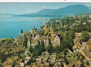 Switzerland Neuchatel et la Montagne de Boudry