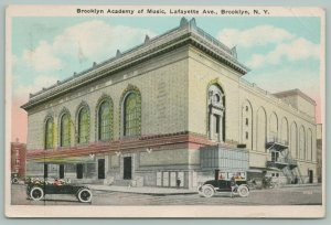 Brooklyn New York~Brooklyn Academy of Music~Lafayette Avenue~Corner View~1926