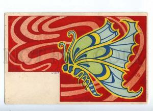 187605 ART NOUVEAU Butterfly AIR by CCT Vintage DIETRICH PC