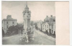 Exeter Jubilee Clock Tower Devon United Kingdom UK 1905c postcard