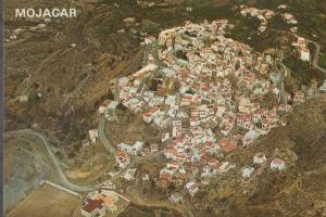 Mojacar Spain Stunning Birds Eye Aerial Spanish Postcard