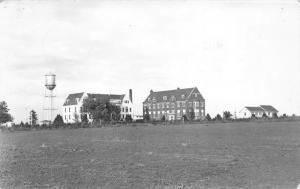 Geneva Nebraska~Fanny Crosby Buildings~Admin-Main Bldgs-Auditorium~1940s RPPC