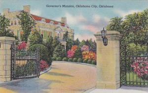 Governor's Mansion, Oklahoma City, Oklahoma,  30-40s