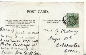 Genealogy Postcard - Pudney - Layer Road - Colchester - Essex - Ref 5076A