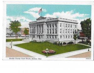 Hardin County Court House, Kenton Ohio Mailed 1947