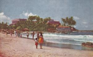 SRI LANKA, Ceylon, 1940-1960´s; Mount Lavinia Beach And Hotel