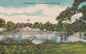 ATLANTA, Georgia, 1930-40s; Swimming Pool, Piedmont Park
