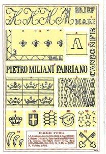 CARTOLINA d'Epoca - ANCONA - FABRIANO:  PUBBLICITARIA 1959