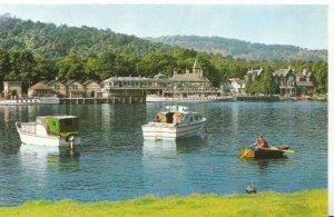 Cumbria Postcard - Lake Side - Windermere - Ref 5930A