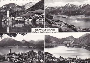 Austria St Wolfgang Multi View Photo