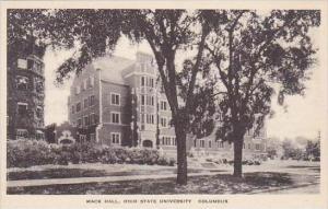 Ohio Columbus Mack Hall Ohio State University