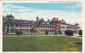 Hospital National Soldiers Home Virginia