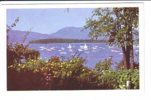 Sailboats English Bay, Vancouver, British Columbia,