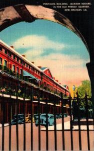 Louisiana New Orleans Pontalba Building